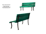 transparent bench seats stock by madetobeunique