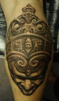 aztec crown by strangeris