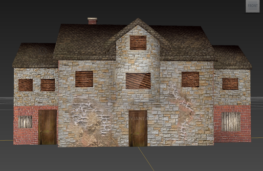 3D Stone House/Cottage? by rattree