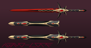 Ruby Sword Auction Adopt (open) by Nano-Core