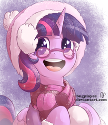 First Snow For Sparkle by Bugplayer