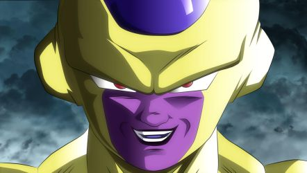Golden Frieza by MohaSetif