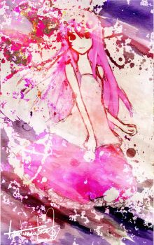 Vocaloid- Pink by lizardsinrainforest