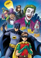 Batman '66 by thiagospyked