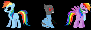 Five Nights At Aj's #3 Rainbow Dash by chocolatepony157