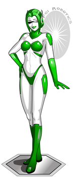 Gynoid GN-1/1/001P Evelyn by NukuNookee