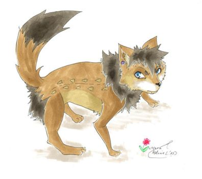 my Beast Form :D by c1sowa
