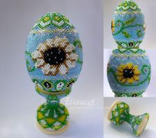 Spring Easter Egg by Elizavet