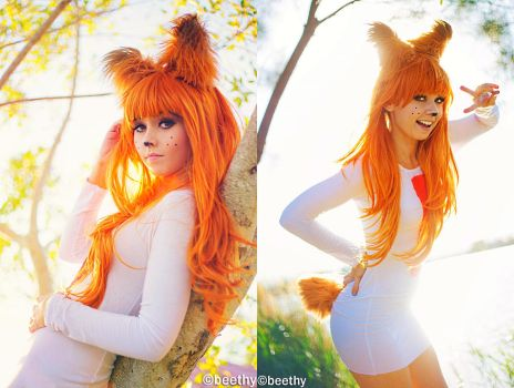 Cosplay-bubsy  01  By Beethy-combo edit by retroreloads
