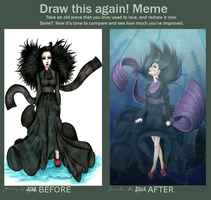 Before And After Meme by BrenderKaronne