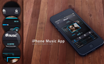 iPhone Music App by BorisWick
