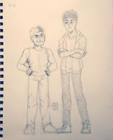 how much can i exaggerate the height difference? by cryingpossiblydying