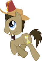 Doctor Whooves{is cool} by Peora