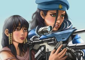 Ana overwatch by blouson