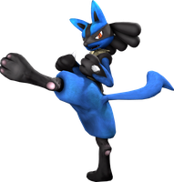 Lucario - Basic Kick by LunicAura106