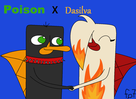 Poison and Dasilva Crack Pairing! by ficklepickle7