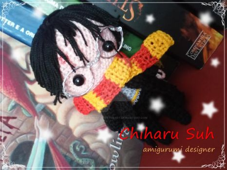 Chibi Harry Potter by Amigurumi-sweetheart