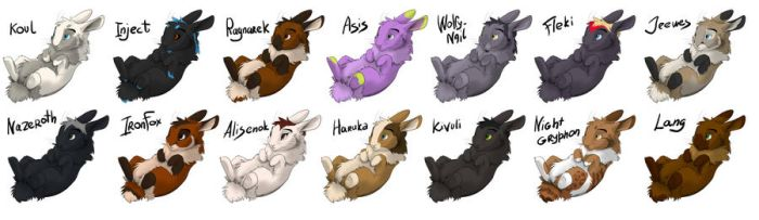 Rabbits 1 by 2078