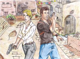 Uncharted 2 by Velkhan
