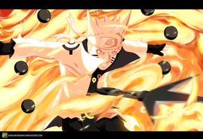 Naruto Ashura Mode by MilarS