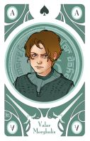 Game of Thrones' cards | Ace Arya Stark by SimonaBonafiniDA