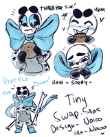 MY VERSION OF SWAP SANS   TINY SWAP by Noioo