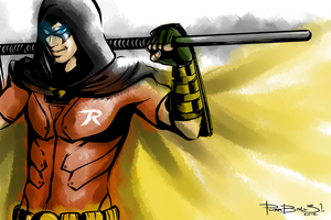 Robin by purrball31