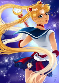 Sailor Moon by CoffeeCat-J