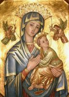 Our Lady of Perpetual Help by Theophilia