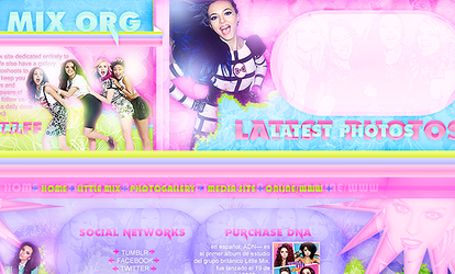 Little preview for little mix.org by ValeVelez-222