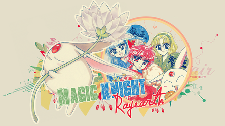 Magic Knight Rayearth Wall by itakomalo