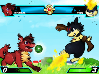 Andalusst Assault Micheal vs Ryos by FruitBatFrog