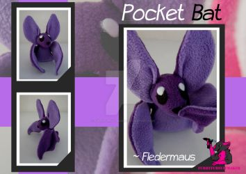 Pocket Bat - Fledermaus by FurryFursuitMaker