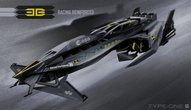 ThreeBee - Racing Reinforced  Type ONE by IllOO