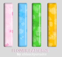 Flower Patterns by xblaackparadex