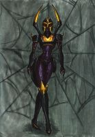 TFA Blackarachnia - colour by Guard-of-Minasteris