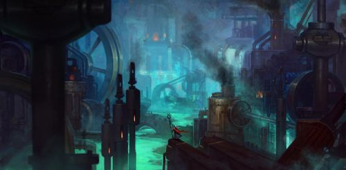 The Steam Factory by Zephyri