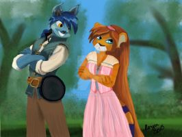Tangled--Neopets Style by Sadict