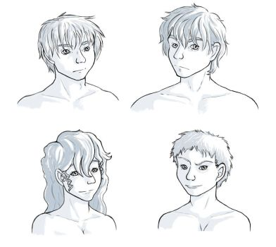 Faces by Hakuba-kun
