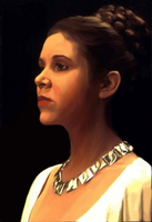 Princess Leia by cloaked-nouveau