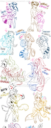 Couple chibs by NightSaber