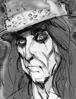 Alice Cooper by DrawingWithRazors