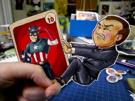Agent Coulson Paperchild by DigitalDuckie