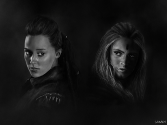 Heda and Wanheda by SBKARM