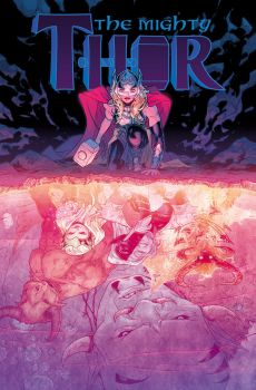 The Mighty Thor #3 cover by RDauterman