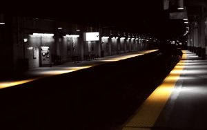 NJ Station at night wallpaper by lowjacker