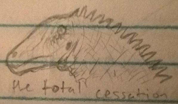 Doodle Total Cessation Diplodocid by CMIPalaeo