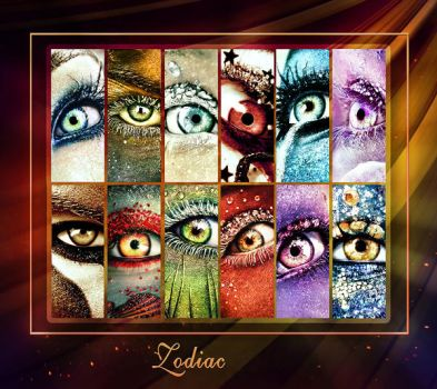 2017 Zodiac eyes calendar by ftourini