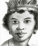 Drawing of Queen Anna Nzinga by ArtmasterRich