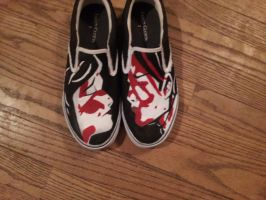 Three Cheers For Sweet Revenge Shoes Done by mnb73